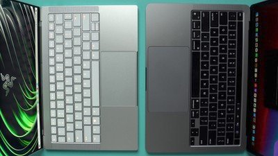Razer MacBook Pro keyboard comparison