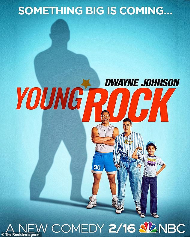 The Laughter Is Coming: Young Rock is scheduled to premier on NBC on February 16, 2021