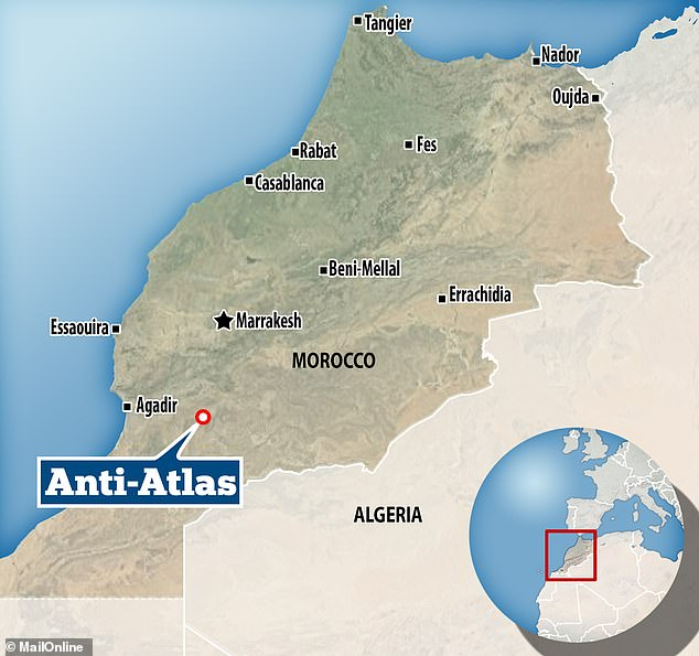 Experts from Cambridge said that the fossil - discovered from the site (Mubarraz) inside the so-called shale shale in the Vzuata of the Small Atlas Mountains - is the oldest known starfish