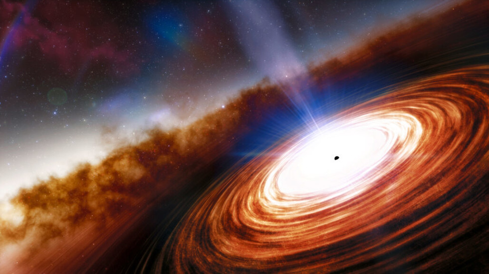 Most of the supermassive black hole ever discovered distant quasar forces and highlights the early universe – RT World News