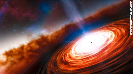The oldest black hole and supermassive quasar was discovered in the distant universe