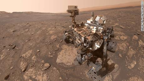 What Mars looks like, rover welcome party